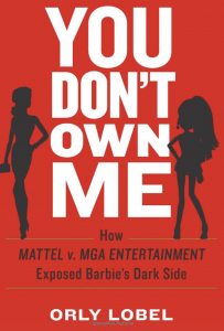 """Cover of """"You Don't Own Me"""" book by USD Law Professor Orly Lobel"""