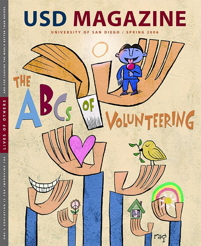 Spring 2006 USD Magazine cover