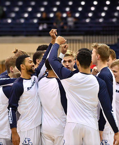 The men's basketball team