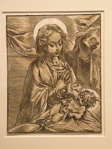 Andrea Andreani, Virgin and Child