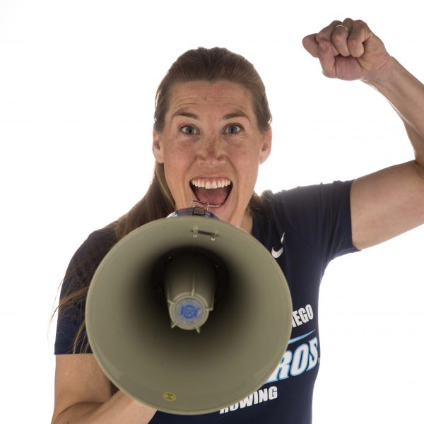 USD Women's Rowing Coach Sarah Trowbridge