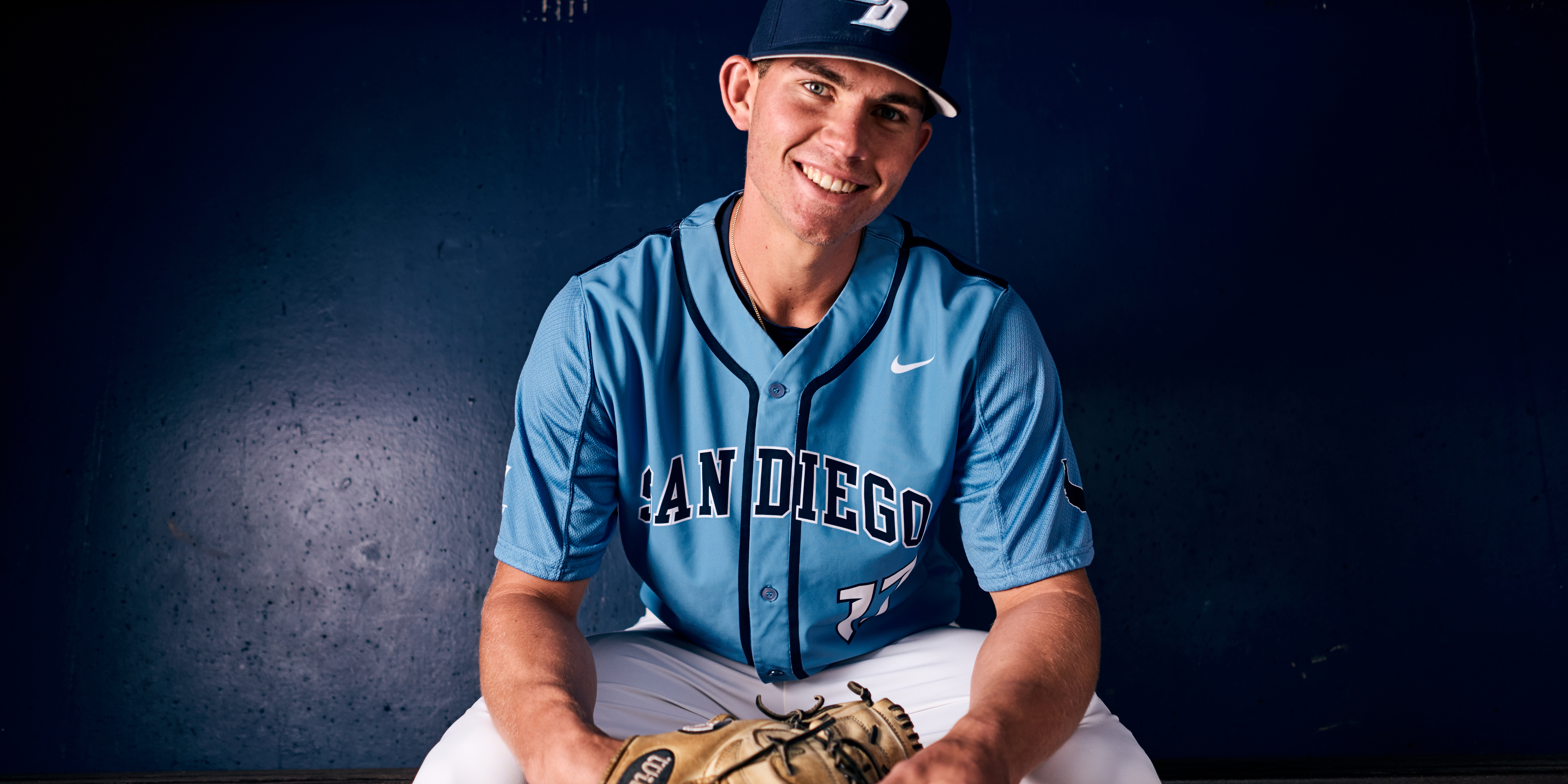 USD Pitcher Nick Sprengel