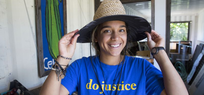 JANAYE PERRY '18, MICAH FELLOW