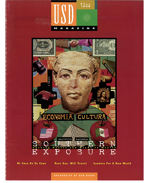 Fall 1998 USD Magazine cover