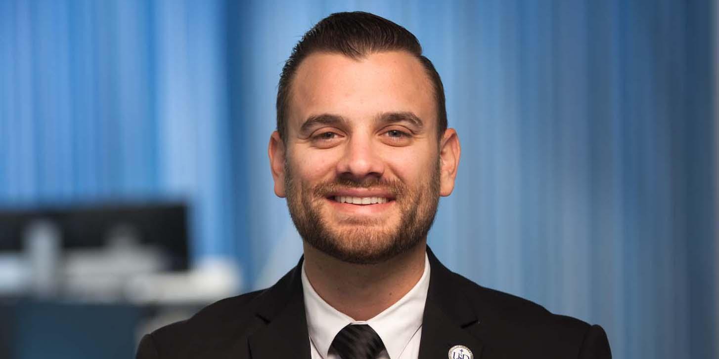 USD alumnus Cameron Markowitz '18.