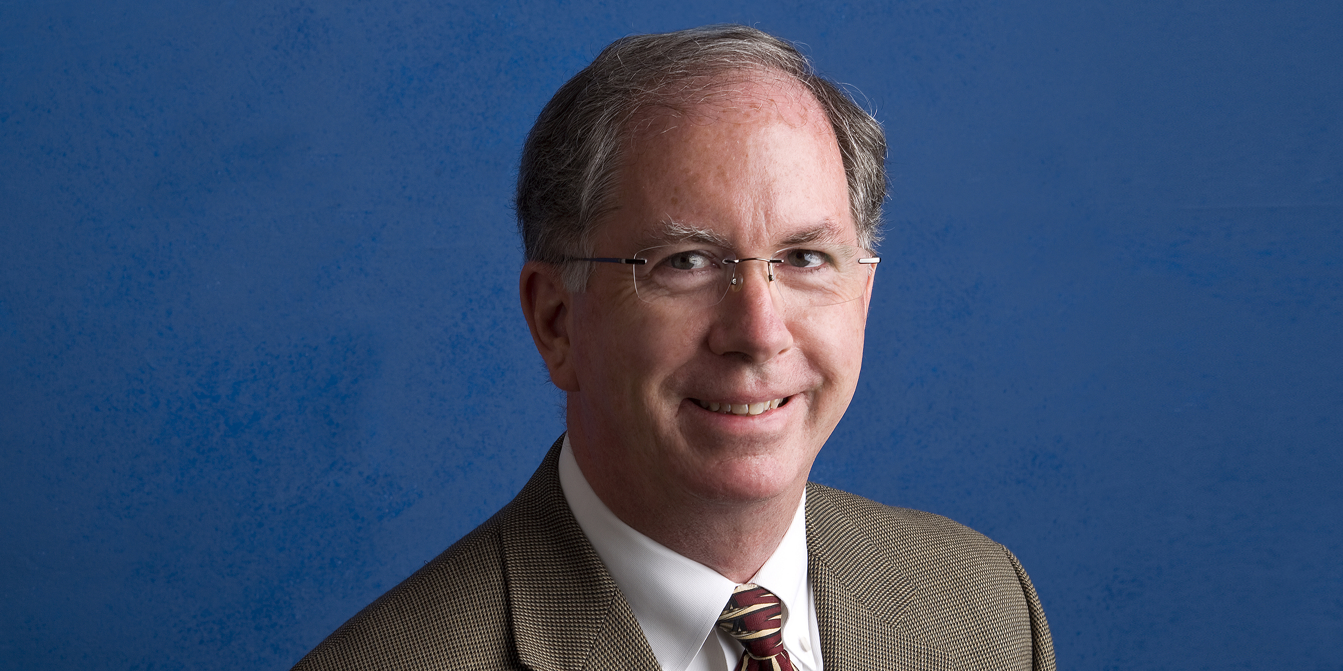 Outgoing University Relations Vice President Timothy L. O'Malley, PhD