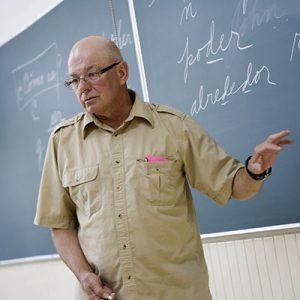 Professor Fendrick in Guadalajara