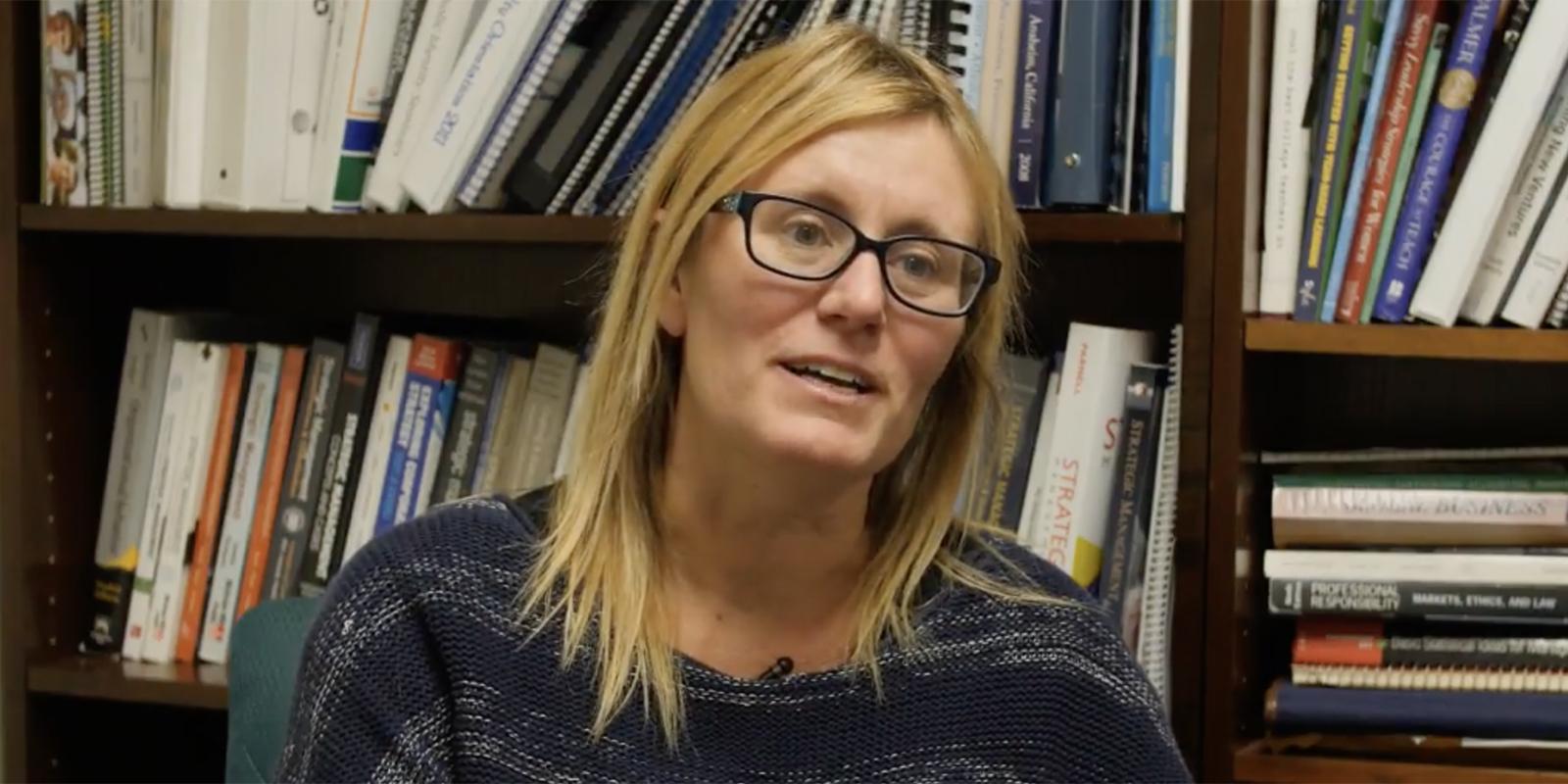 USD professor Moriah Meyskens, PhD