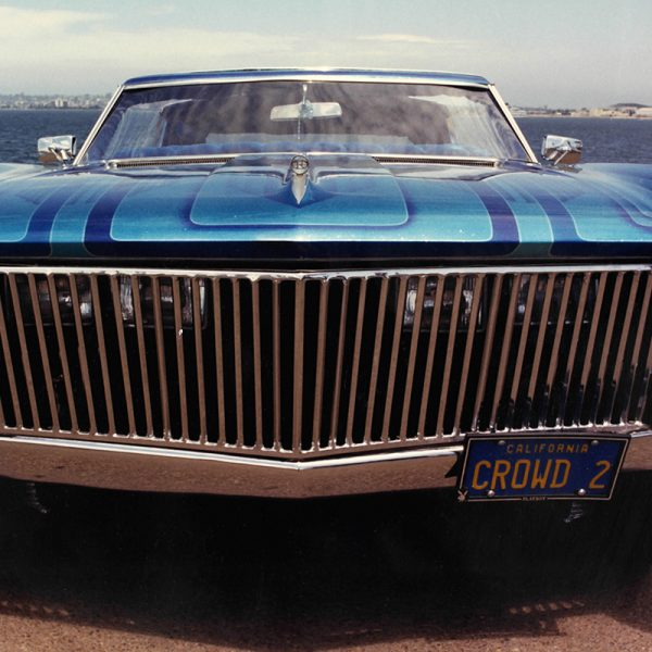 grill of cool lowrider car