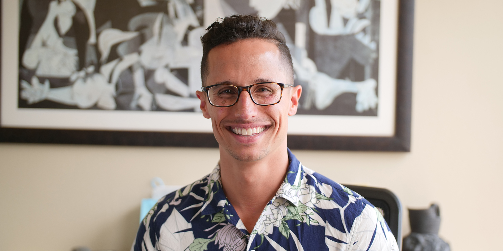USD Professor Greg Prieto
