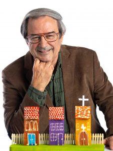 English Professor Dennis Clausen.