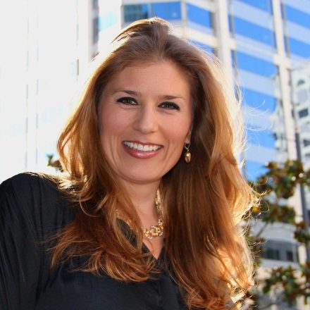 USD alumna Lynn Hijar Hoffman