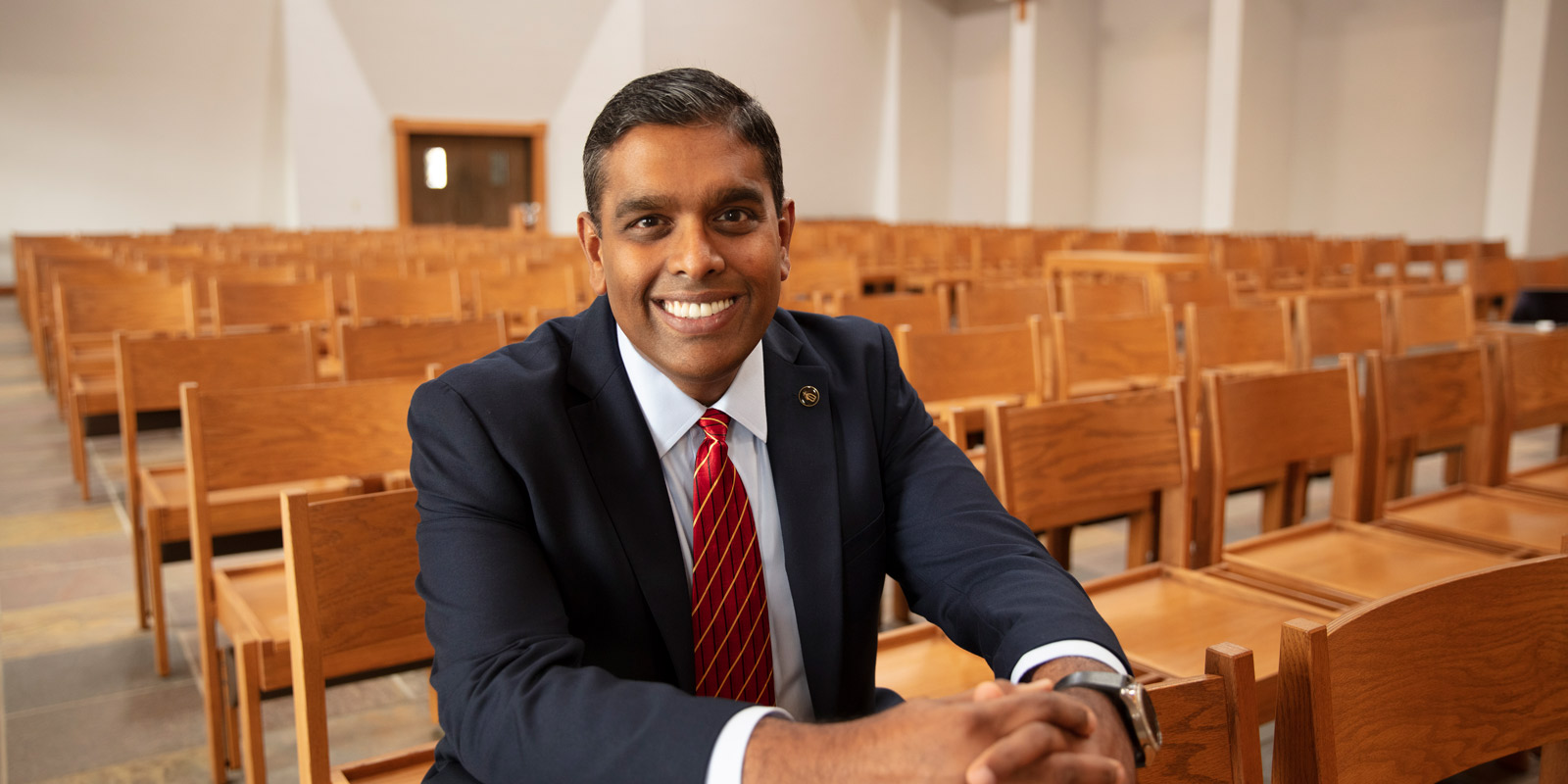 Catholic Charities head Vino Pajanor