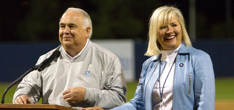 USD donors Ron and Alexis Fowler