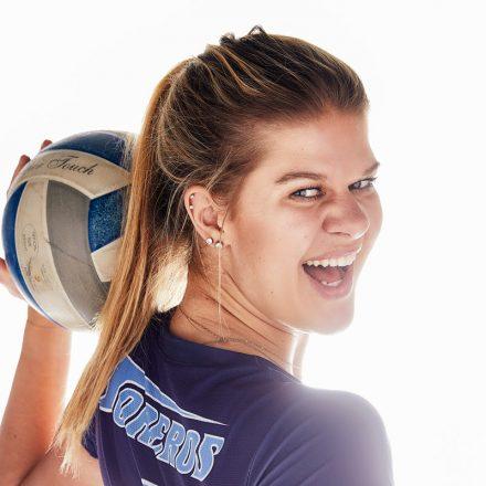 USD volleyball player Addie Picha.