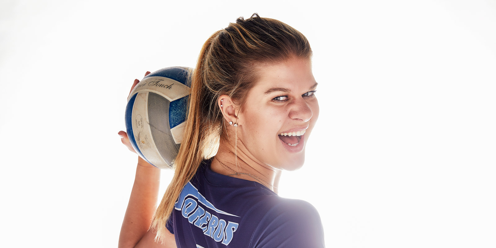 USD volleyball player Addie Picha.
