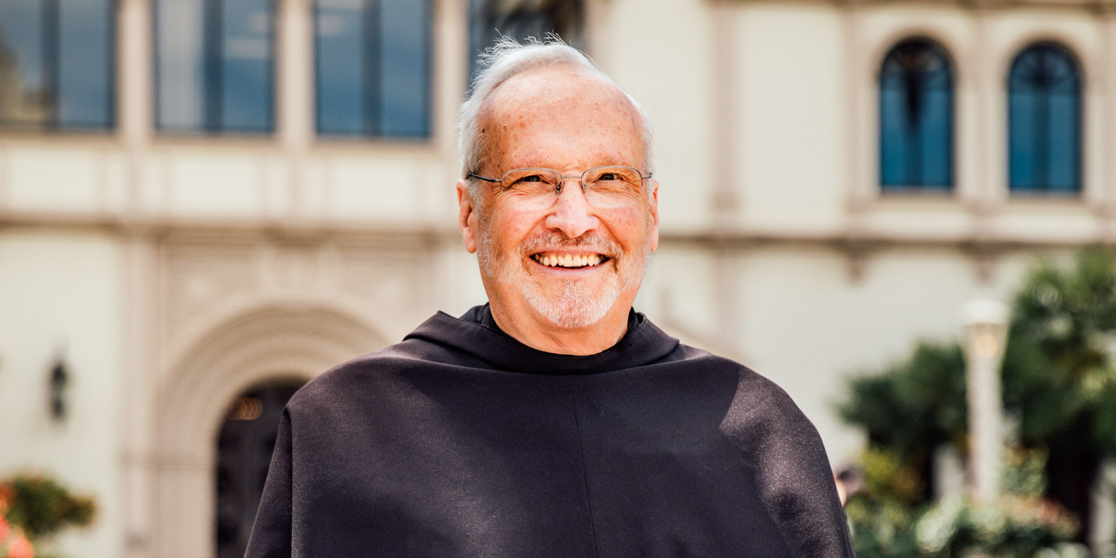 Father Mike Higgins of the Franciscan School of Theology.