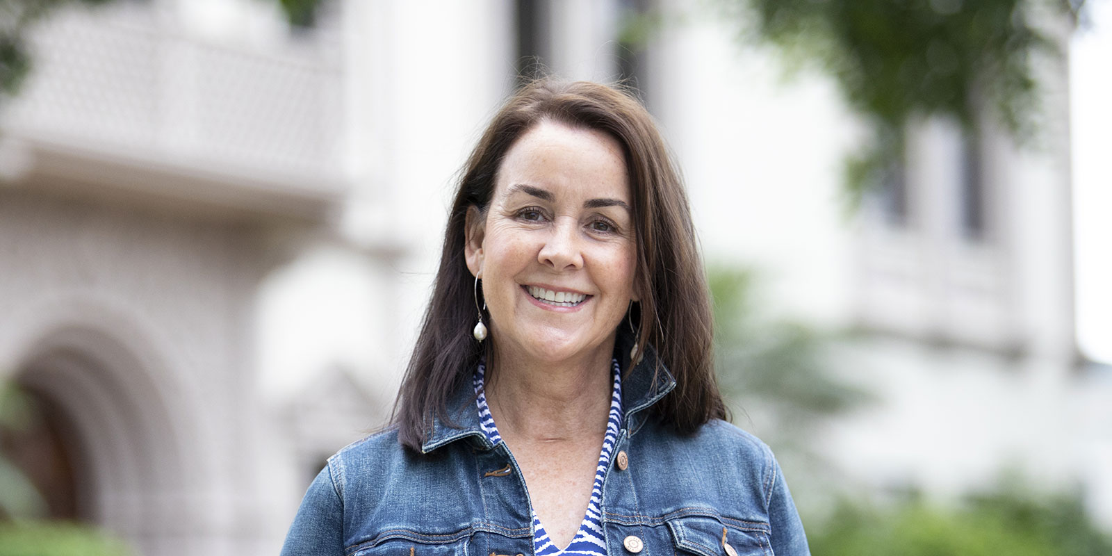 Kim Alessio '87 (BA), incoming president of USD's Alumni Association Board