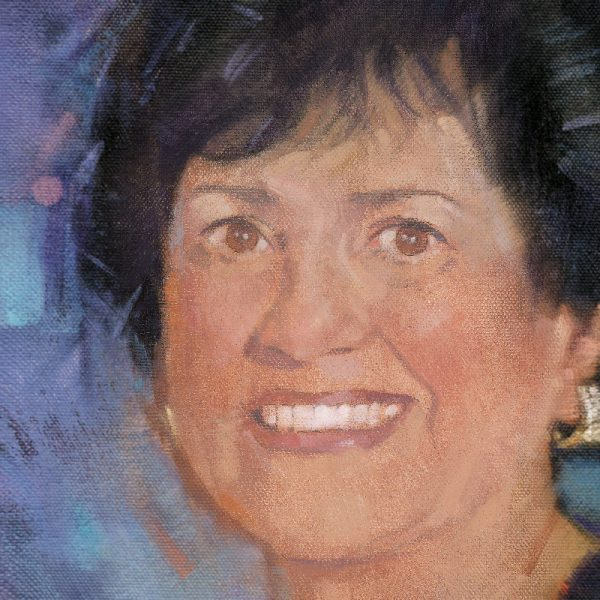 Illustration of USD donor Carol Vassiliadis