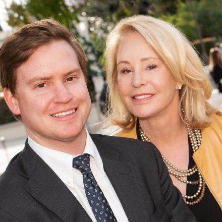 University of San Diego donor Una Davis and her son, James Davis