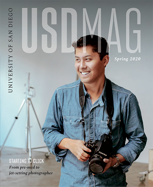 Spring 2020 USD Magazine cover