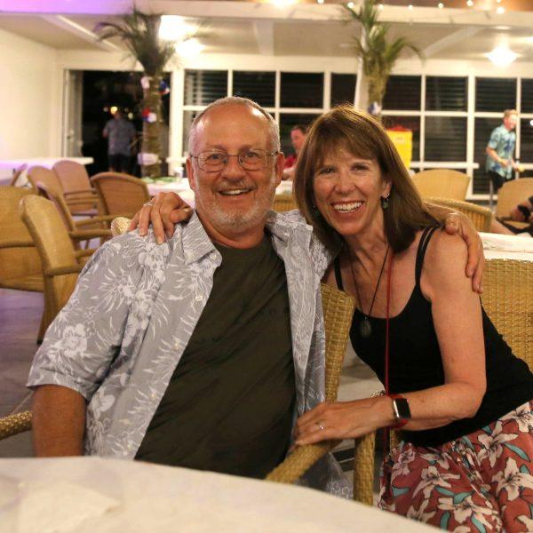 USD alumnus Paul Eichen '12 (MA) and his wife, Susan Flieder