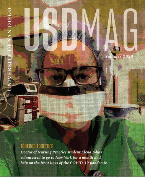 Summer 2020 USD Magazine cover