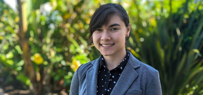 USD student Laura Bolt '21 (BA)
