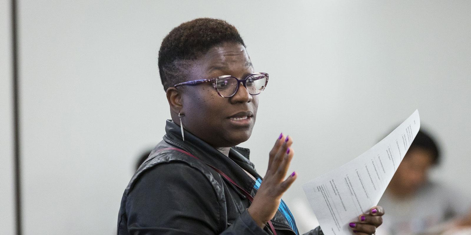 USD Associate Professor Odesma Dalrymple