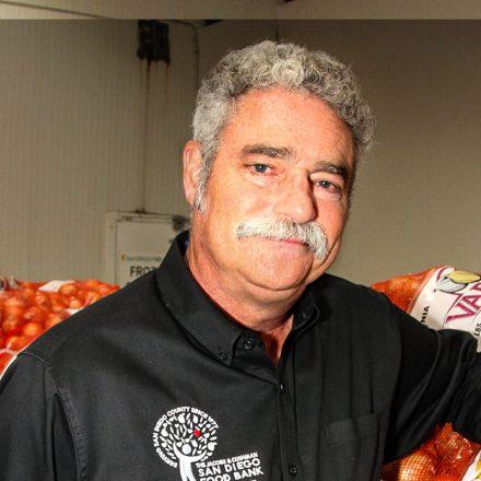 San Diego Food Bank CEO and USD alumnus Jim Floros