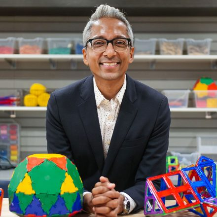 USD math professor Satyan Devadoss.