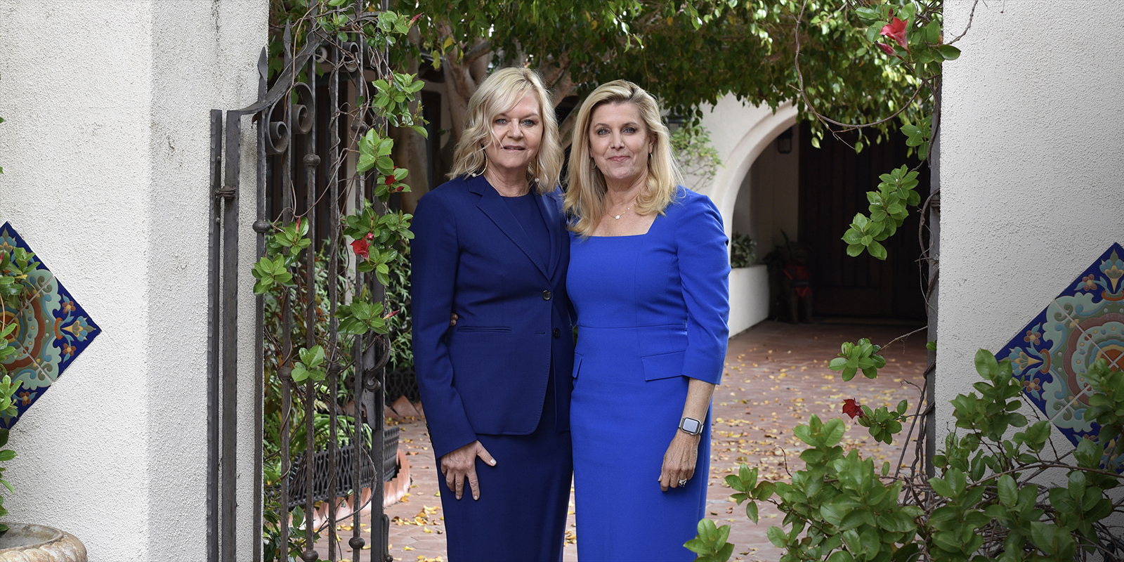 Sisters Lorna and Cynthia Alksne are both alumni of USD's School of Law