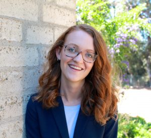 USD law student Maddie Orcutt '21 (JD candidate)