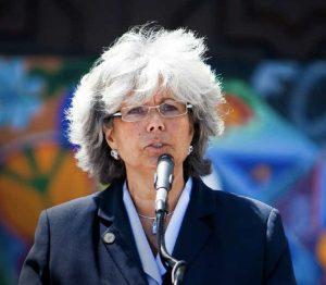 USD vice president of student affairs Carmen Vazquez.