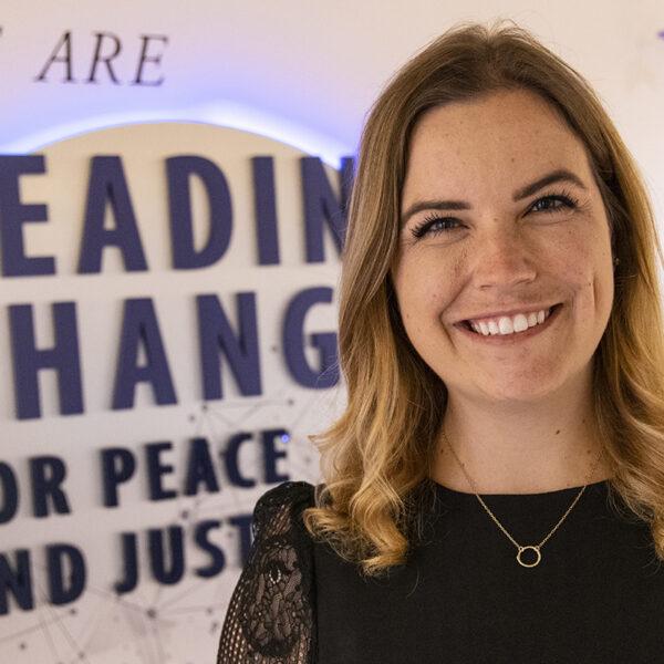 USD alumna Alexandra Steinhaus '15 (BA), '20 (MA)
