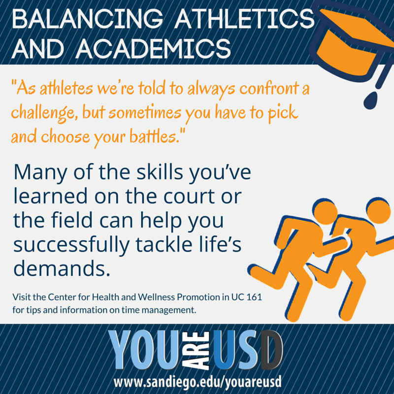 Academics and athletics - how to manage your time