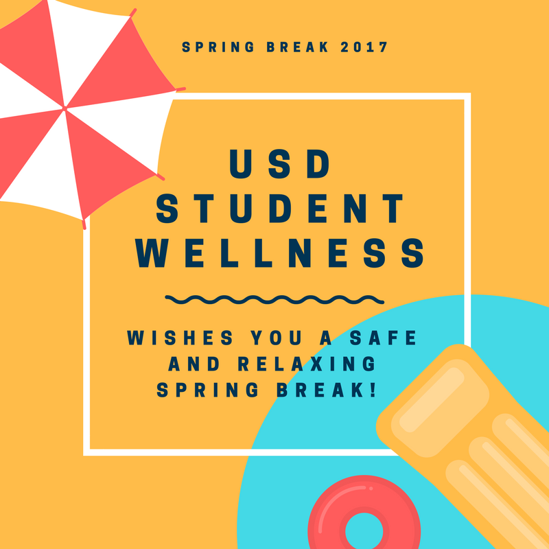 University of San Diego Tips for a Safe Spring Break